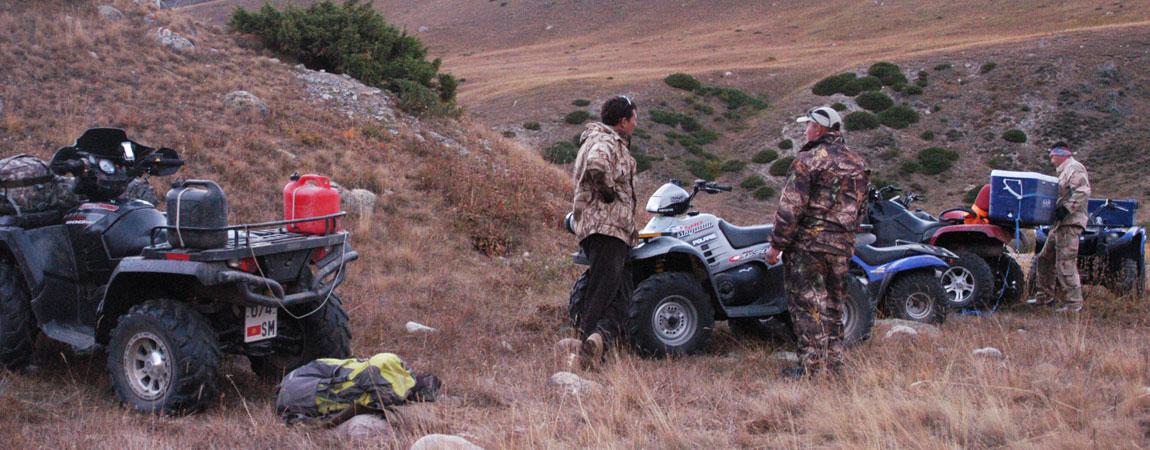 Quad Tour zum Kegety-Pass und weiter zu den Konortchok Canyons