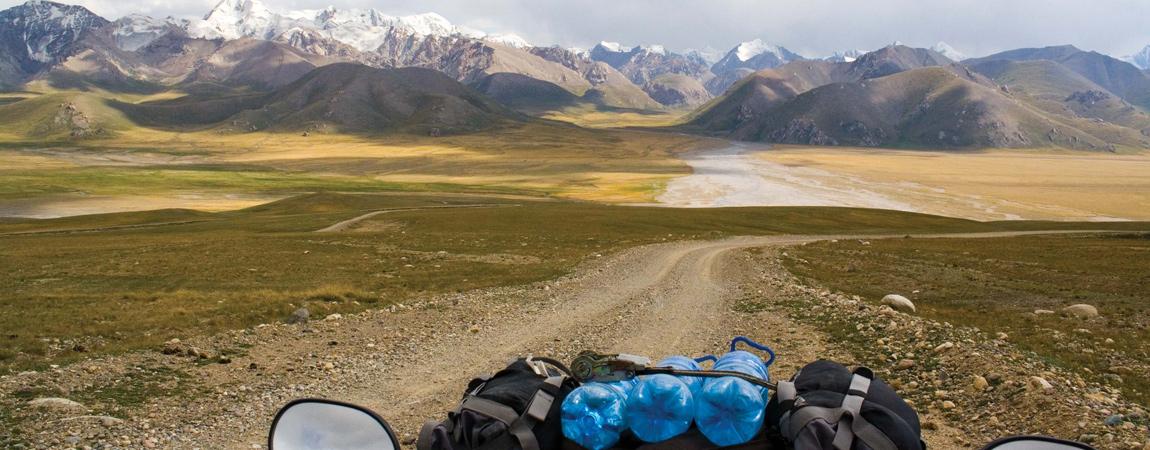 ATV Adventure Tour von Kirgistan in die Taklamakan Wüste